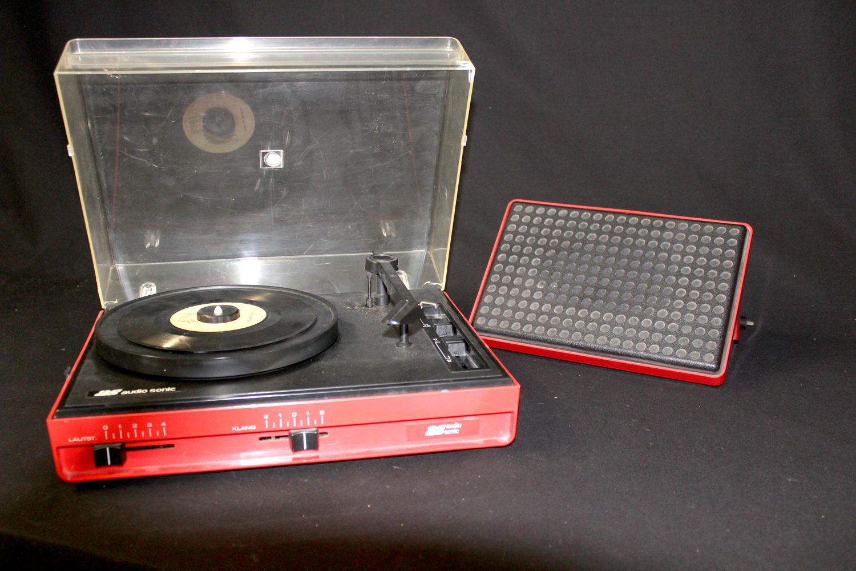 Platenspeler Als Decoratie : Vintage platenspeler van audio sonic the boomerang