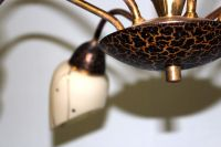 50's lamp, hanging lights in Italian style with six lights